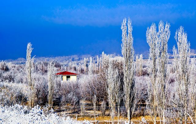 Zanjan - Tabriz road