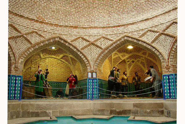 Qjr bath - حمام قجر قزوین