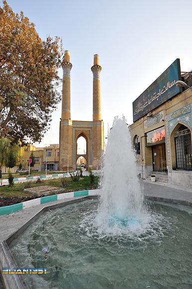 Dar-al Ziafeh Minarets - مناره های دارالضیا