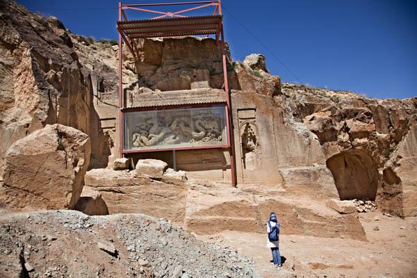 Dash Kasan Temple (Caves) معبد (غارهاي) داش كسن