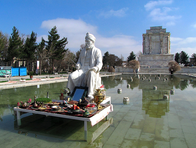 Norouz at Ferdowsi's tomb