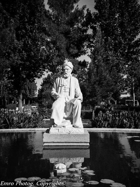 Statue of Ferdowsi in Tus - مجسمه