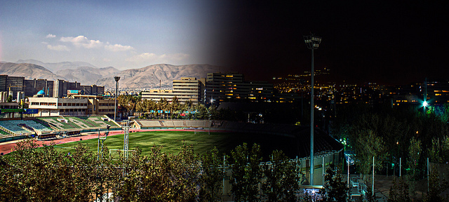 Day & Night at Tehran - روز و شب در تهران