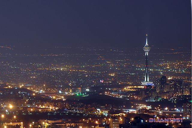 Tehran from Tochal - تهران از کوه توچال