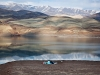 Lake of Taleghan Dam - by Ali Majdfar