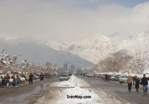Tehran-Snow