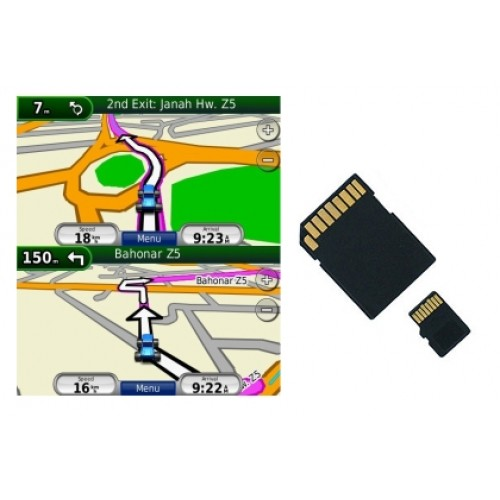 Iran GPS Map For Garmin On SD/Micro Card